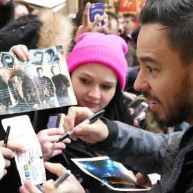 Autogrammstunde mit Linkin Park
