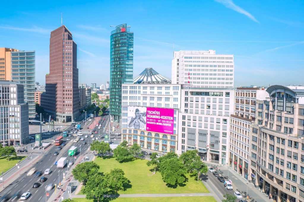 Leipziger Platz und Potsdamer Platz