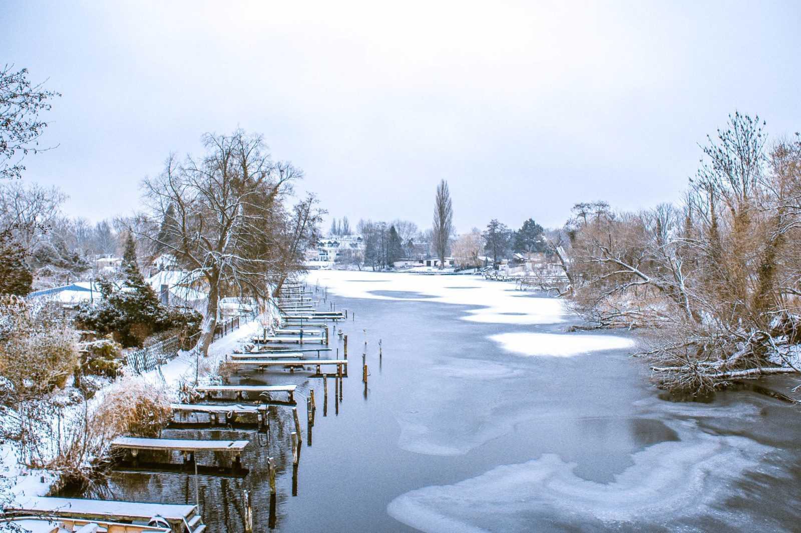 Winter in Berlin Köpenick