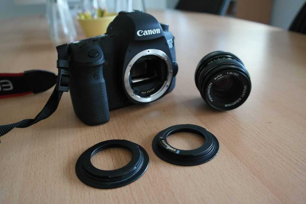 Altes Objektiv an neuer Kamera