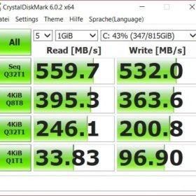 Samsung 860 QVO Cyberport - Crystalmark